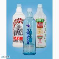 Нанесение изображений и надписей на стеклянные бутылки