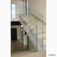 Ограждения из стекла для лестниц, балконов, лоджий и террас