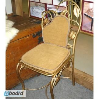 Кованый стул со спинкой КСС4