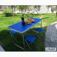 Туристический складной комплект мебели WELFULL-FTS1-4, мебель для кемпинга