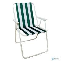 Складной пляжный стул, стул туристический со спинкой WELFULL-YZ19001