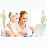 Работа для студентов и мам в декрете