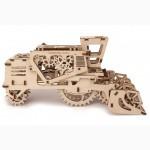 Механический-Деревянный 3D Конструктор – Комбайн