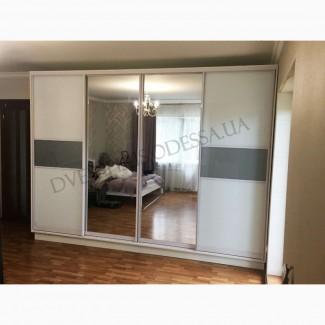 Шкафы купе и гардеробные комнаты на заказ в Одессе от Dveriplusodessa