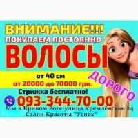 КУплю Продать волосы в Кривом Роге дорого Платим за волосы дорого Кривой Рог Украина