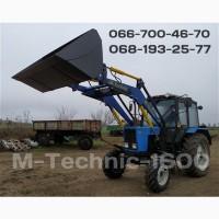 Кун. Быстросъёмный фронтальный погрузчик M-Technik1600