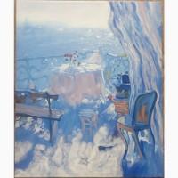 Картина Терасса, 50х60см, холст, масло