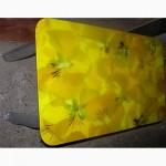 Качественные стеклянные обеденные столы с фотопечатью по доступным ценам