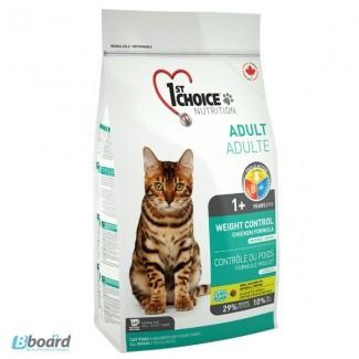 Корм для кошек 1st Choice КОНТРОЛЬ ВЕСА корм для кастрированных котов