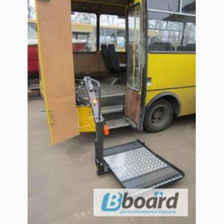 Переоборудование автобусов для инвалидов