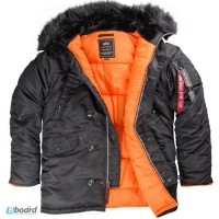 Компания Alpha Industries Inc. USA продает оригинальные куртки Аляски