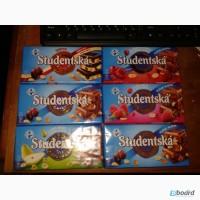 Шоколад Studentska -180 г. В наличии есть все виды шоколада. Опт -договорная цена