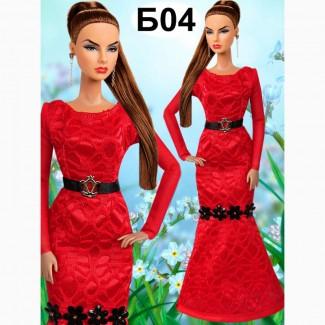 Вечерние платья для кукол Барби