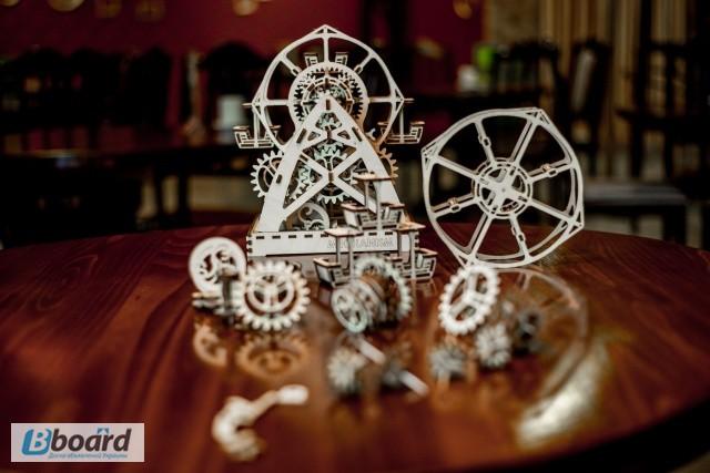 Фото 3. Механический-Деревянный 3D Конструктор - Колесо обозрения