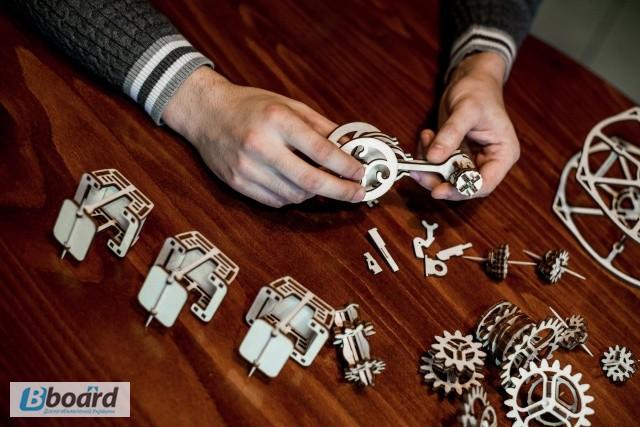 Фото 7. Механический-Деревянный 3D Конструктор - Колесо обозрения