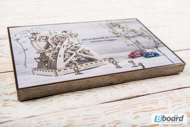 Фото 9. Механический-Деревянный 3D Конструктор - Колесо обозрения