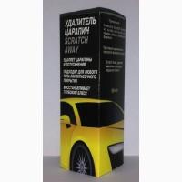 Купить Scratch Away - полироль / удалитель царапин с авто (Скретч Эвей) оптом от 50 шт