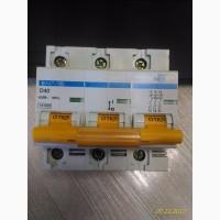Автоматический выключатель ВА47-100 3P D 40 А ИЭК