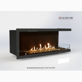 Биокамин «Очаг Focus MS-арт.007» ТМ Gloss Fire