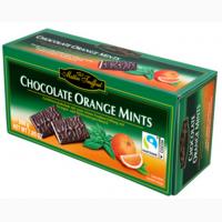 Конфеты Maitre Truffout Chocolate Orange Mints 200г
