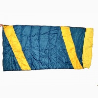 Спальный мешок одеяло с подголовником на рост до 174 см