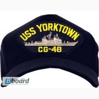 Кепки милитари с символом Американского военного корабля (США)