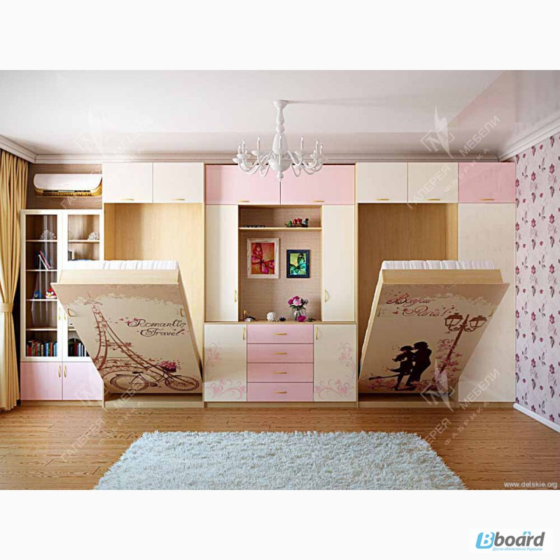 Комната для двух подростков фото