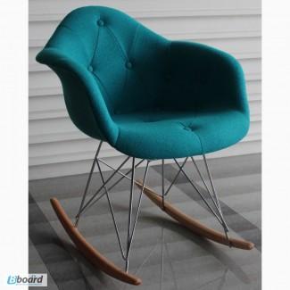Кресло-качалка Paris R Wool, кресло-качалка Пэрис Р Ткань Шерсть для салона, дома, студии