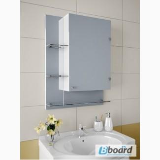Полочка с зеркалом в ванную А86