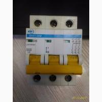 Автоматический выключатель ВА 47-29М 3р 6А D IEK