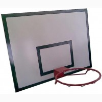 Баскетбольный щит металлический 0, 9м х1, 2м