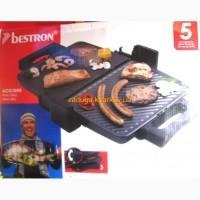 Гриль барбекю контактный электрический BESTRON Maxi Grill из Германии новый
