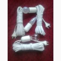 Удлинитель для освещения, лампа переноска, провод шввп