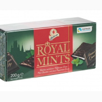 Конфеты HALLOREN ROYAL MINTS с мятной начинкой 200г