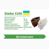 Металлопластиковая дверь Steko S300