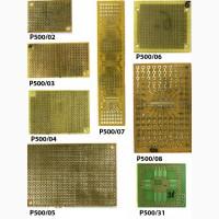 Макетные и печатные платы 50 видов, фольгированный стеклотекстолит, слюда