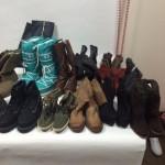 Новая весовая стоковая обувь из Европы Hesko (Хеско) по 9 евро/кг. Кожа, замш, зам