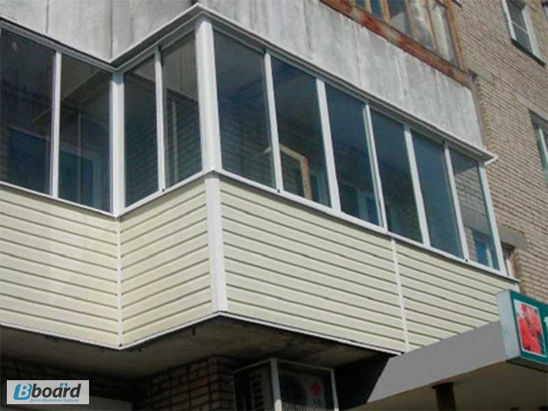 Фото к объявлению: расширение и остекление балконов и лоджий.