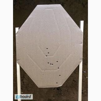 Мишень Классическая IPSC из гофрокартона для практической стрельбы