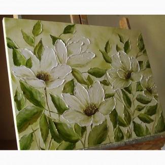 Картина маслом Ніжність 45х60
