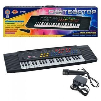 Продам детский синтезатор с микрофоном SK 3738