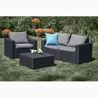 Садовая мебель Allibert California 2 Seater Set