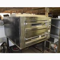 Пицца печь (подовая печь) два поста б/у OEM DB 12.35S