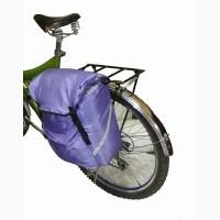 Вело сумка на багажник. V = 14 л + 2 л карманы. Вело туризм