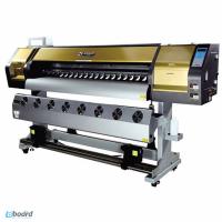 Продам Новый Эко-сольвентный широкоформатный принтер WT-1802A на 2шт DX7