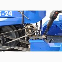 Минитрактор GST25 DIFVT + фреза