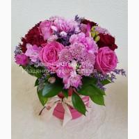 Шляпные коробки с цветами в Киеве и области