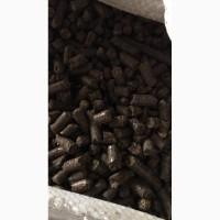 Пеллеты из лузги подсолнуха от производителя от 2200 грн