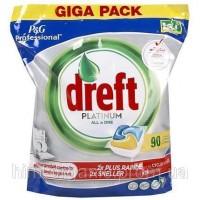 Средство для посудомоечных машин Dreft Plаtinum All in 1 90шт