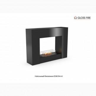 Напольный биокамин EDISON-m1 ТМ Gloss Fire